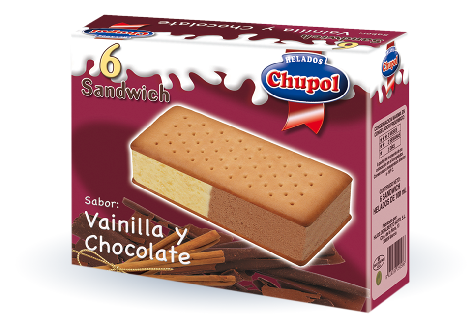 Sandwich Vainilla Chocolate